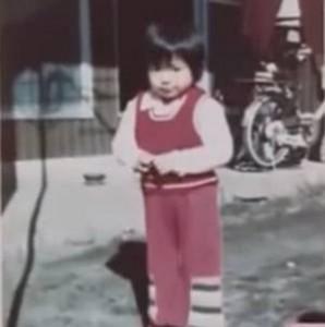 2~3歳位の時の写真