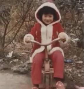 篠原涼子さん小さい頃