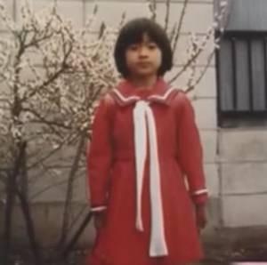 小学校の入学式の時の篠原涼子さんの写真