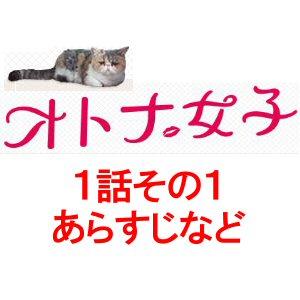 ドラマ「オトナ女子」1話あらすじなど