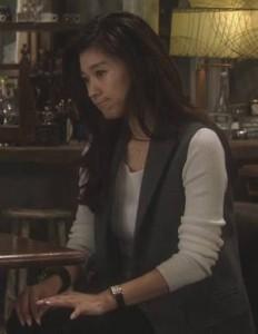篠原涼子のオトナ女子アクセサリ腕時計
