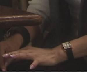 篠原涼子のオトナ女子アクセサリ腕時計アップ