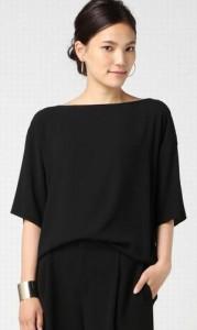 オトナ女子篠原涼子衣装スタイルクルーズ「DRAPE Tシャツ◇」