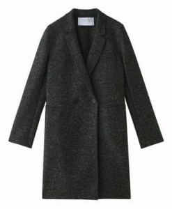 ドラマオトナ女子7話中原亜紀(篠原涼子)衣装白色ロングコート色違いの黒色・ブラックロングコート