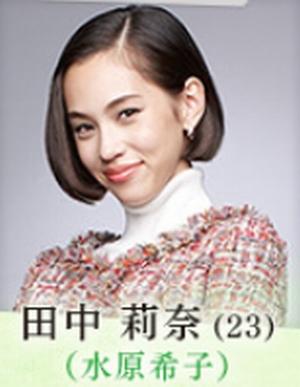 家族ノカタチ(かぞくのかたち)の水原希子演じる役キャストの田中莉奈(たなかりな)