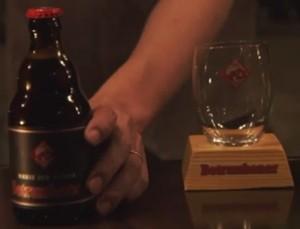 家族ノカタチの永里大介(香取慎吾)のビールbetrunkener(ベトルンケナー)とグラス