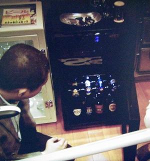 永里大介(香取慎吾)のビール専用冷蔵庫