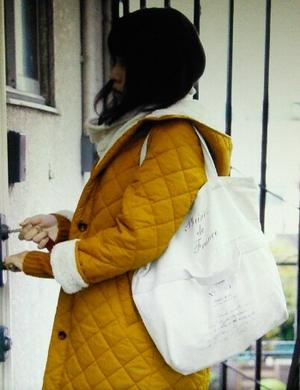 いつかこの恋を思い出してきっと泣いてしまう(いつ恋)2話の林田音(杉原音・有村架純)の白色カバン衣装