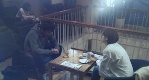 家族ノカタチ1話、永里大介(香取慎吾)カフェのロケ地のカフェ「EMPORIO cafe dining 駒沢通り学芸大学店