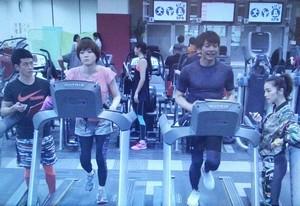 家族ノカタチのロケ地で大介(香取慎吾)と葉菜子(上野樹里)のトレーニングジム10