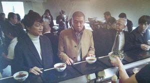 家族ノカタチのロケ地-ランチのつけ麺・蕎麦屋(そば屋)-そば処港屋(MINATOYA、みなとや)1