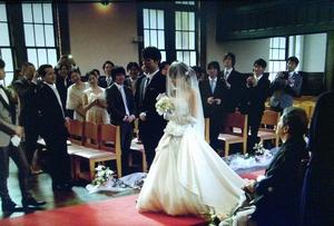 家族ノカタチ5話ロケ地[結婚式場]入江春人(千葉雄大)と入江茜(川口春奈)のシーン