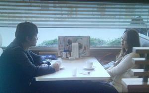家族ノカタチ6話ロケ地で大野美佳(観月ありさ)と永里大介(香取慎吾)が話した[ファミレス]のシーン2