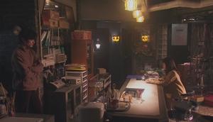いつ恋6話曽田練と中條晴太の職場のスマートリクルーティングの内部の様子
