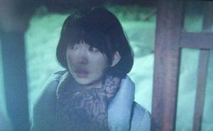 いつ恋5話-市村小夏が、練を追いかけて福島会津の練のおじいちゃんの家を訪れるシーン。一言も話さず扉を閉められてしまう2