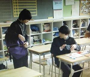 ドラマ家族ノカタチ7話の、匠くん(田中雅功)の出演シーン2ツーショットシーン4
