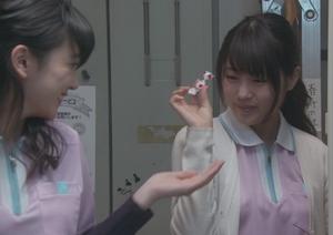月9ドラマいつ恋(いつかこの恋を思い出して泣いてしまう)での有村架純さん介護施設での画像