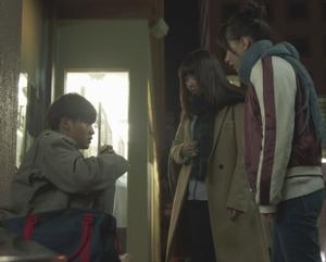 いつ恋9話杉原音ちゃん・ひったくり被害者明日香(芳根京子)・ひったくり犯人(葉山奨之)