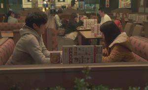 月9いつ恋(いつかこの恋を思い出してきっと 泣いてしまう)最終回10話、昔会ったファミレス(ガストではなく・Quest)で音と練