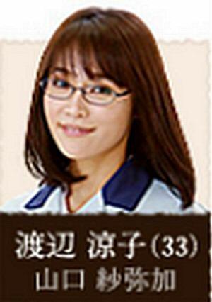 月9ラヴソングキャストの渡辺涼子(わたなべりょうこ)