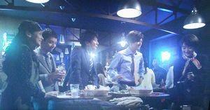 世界一難しい恋鮫島ホテルズ社長・柴山美咲(波瑠)達の行きつけの立ち飲みバー?立ち飲みレストラン?3