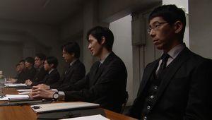 GSG(極楽送迎)の一課と二課の会議。一課死神のシノザキと二課のナベシマ・ゆずこといがみ合い2