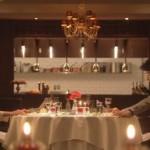 世界一難しい恋(セカムズ)第4話ムードの良い静岡のホテル(駿河エクセランホテル?駿河エクシェランホテル?)のレストランにて食事をする2人