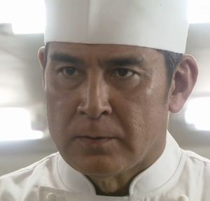 ドラマ世界一難しい恋(セカムズ)第4話6か所目の新ホテルの田中シェフ(宇梶剛士うかじつよし)駿河エクセランホテルにいた