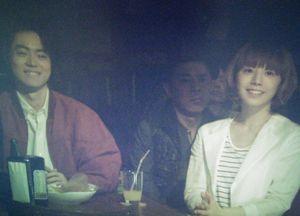 ラヴソング第7話ライブハウスSにて佐野さくら(藤原さくら)が「好きよ好きよ好きよ」の披露中ナイナイ岡村隆史がいた1
