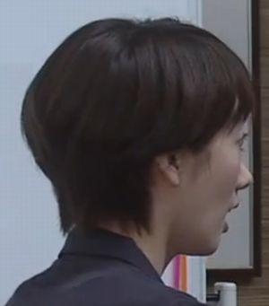 世界一難しい恋・モデル・女優の波瑠(はる)のショートヘアの髪型画像6