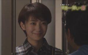 ドラマ世界一難しい恋第7話柴山美咲(波瑠はる)が鮫島零治社長(大野智)のマンションを訪れる。