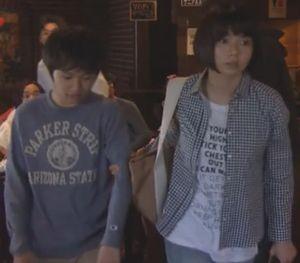 ドラマお迎えデス(お迎えです)第6話幽霊達夫(寺島進)と野球少年の話~真之介(伊澤柾樹)と姉の真理(森カンナ)9