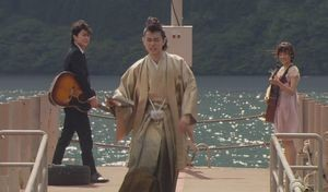 ラブソング(ラヴソング)第10話最終回披露宴でのスピーチの時間だと、天野空一(菅田将暉)がやってきてさくらと神代に伝える