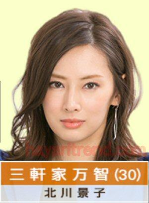 家売るオンナキャスト三軒家万智役は北川景子-不動産会社のすご腕営業マンで主演主役ヒロイン