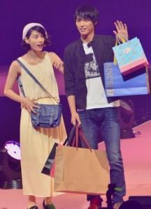 Seventeen「夏の学園祭2013」にて福士蒼汰と橋本愛が彼氏・彼女・恋人デートの設定で出演
