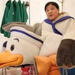 世界一難しい恋9話、カモメ着ぐるみの中の男の人藤田役は上島竜平