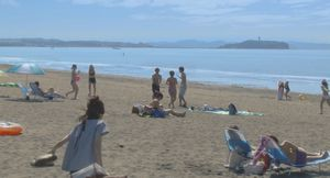 柴崎3兄弟と櫻井美咲(桐谷美玲)の海や砂浜・海辺のシーンのロケ地5