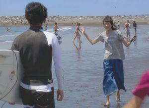 柴崎3兄弟と櫻井美咲(桐谷美玲)の海や砂浜・海辺のシーンのロケ地4