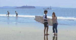 柴崎3兄弟と櫻井美咲(桐谷美玲)の海や砂浜・海辺のシーンのロケ地3