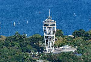 月9ドラマ好きな人がいることロケ地で江ノ島展望灯台シーキャンドル展望台