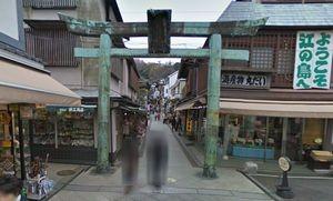 月9ドラマ好きな人がいることロケ地で江ノ島神社への参道2