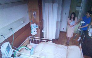 せいせいするほど愛してる三好海里の妻奥さん(三好優香ゆか)の入院病院のロケ地東京逓信病院で入院2