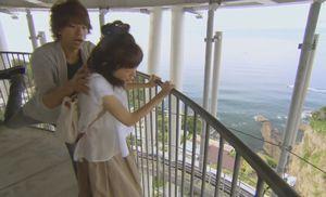 月9ドラマ好きな人がいることロケ地で江ノ島展望灯台シーキャンドル展望台1