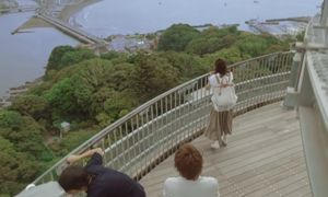 月9ドラマ好きな人がいることロケ地で江ノ島展望灯台シーキャンドル展望台2