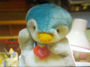 月9ドラマ好きな人がいること第4話美咲がシェアハウスの自分の部屋で千秋を花火大会に誘うためにペンギンのぬいぐるみ・パペットで練習2