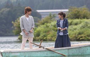月9好きな人がいること第4話バーベキューの際、櫻井美咲と柴崎千秋が池でボートに乗る??