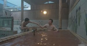 神の舌を持つ男6話大山温泉・無料混浴温泉のロケ地5