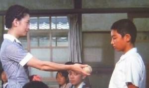 瀬戸内少年野球団の足柄竜太(役者山内圭哉の子役時代)2