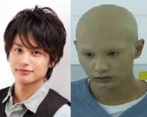 中村蒼がドラマ無痛でイバラの役作りのため髪や眉毛を剃った後と剃る前の対比画像