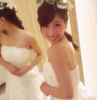 山田涼介の姉、山田千尋さんの結婚画像2